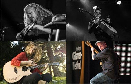 Bild: Fingerstyle-Workshops mit P. Reed, V. Genfan, A. Rafferty & A. Misko | Hamburger Gitarrentage 2019