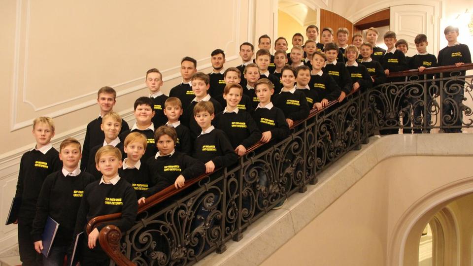Bild: St. Petersburger Knabenchor