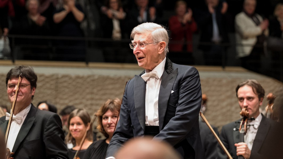 Bild: NDR Elbphilharmonie Orchester / Herbert Blomstedt