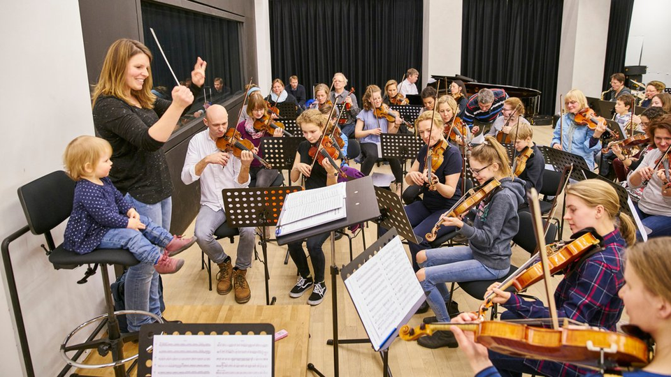 Bild: Elbphilharmonie Familienorchester
