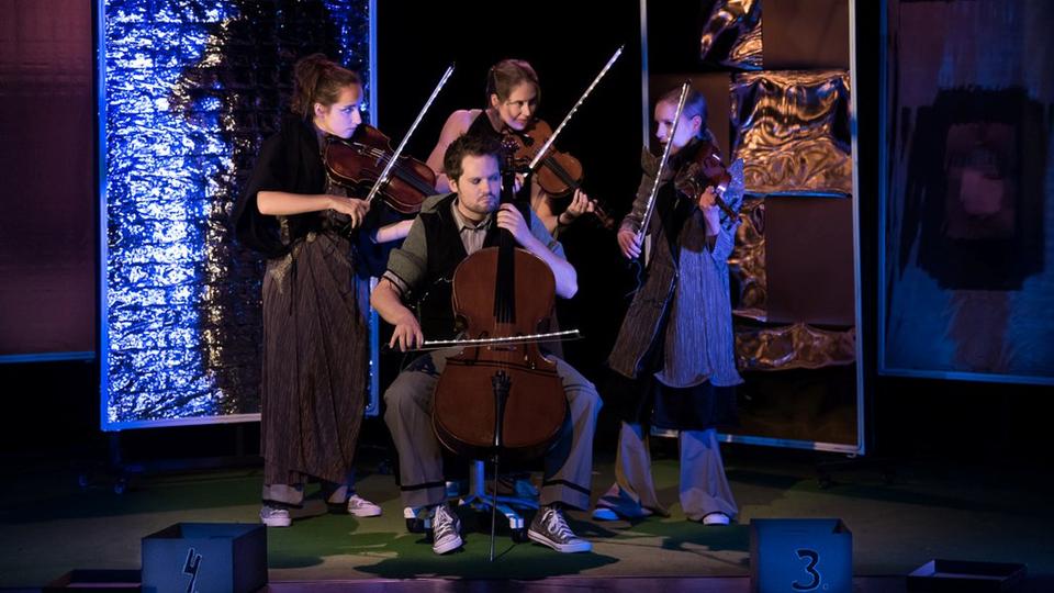 Bild: Funkelkonzert L / Quartett! Ein Kartenspiel mit Beethoven