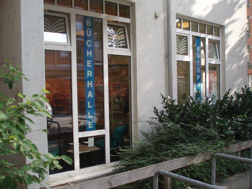 Bild: Die Bücherhalle Wilhelmsburg