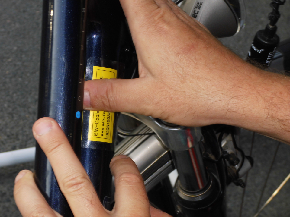 Bild: Fahrrad-Codierung