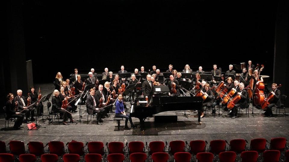 Bild: Benefizkonzert des Hamburger Ärtzeorchesters
