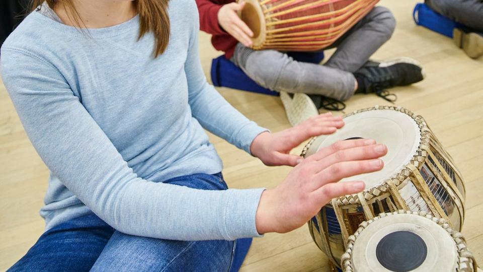 Bild: Instrumentenwelt: Kosmos Percussion