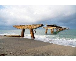 Bild: Seebrücke Lamezia Terme Catanzaro