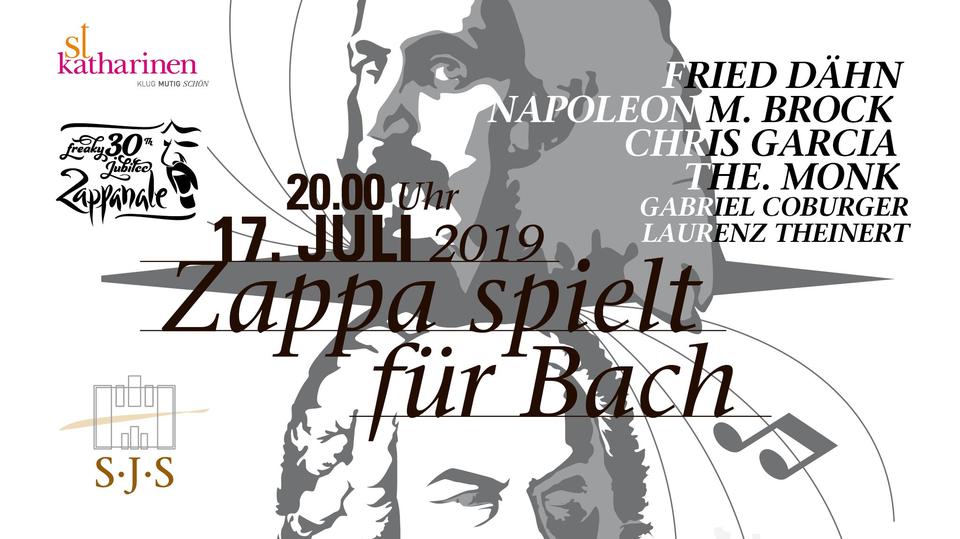 Bild: Zappa spielt für Bach