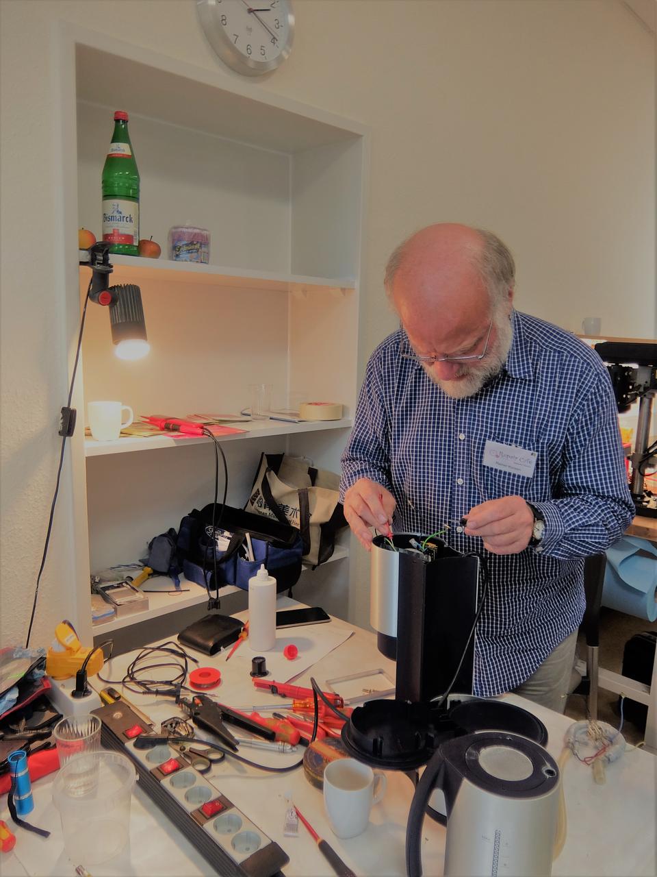 Bild: Repair Café Stellingen