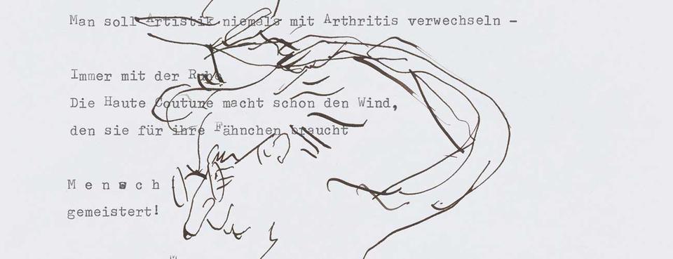 Bild: Peter Rühmkorf / Arno Schmidt: Der Briefwechsel
