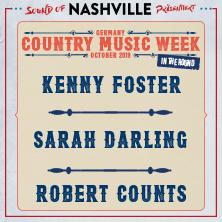 Bild: Sarah Darling, Kenny Foster & Twinnie - Country Music Week Germany 2019