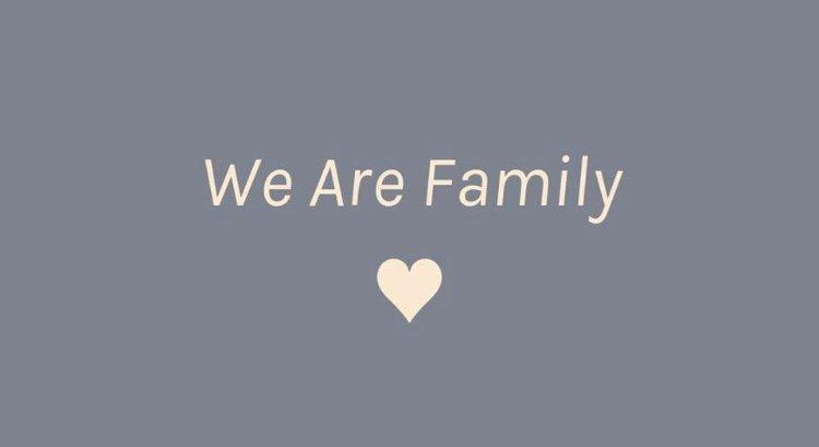 Bild: We are Family.