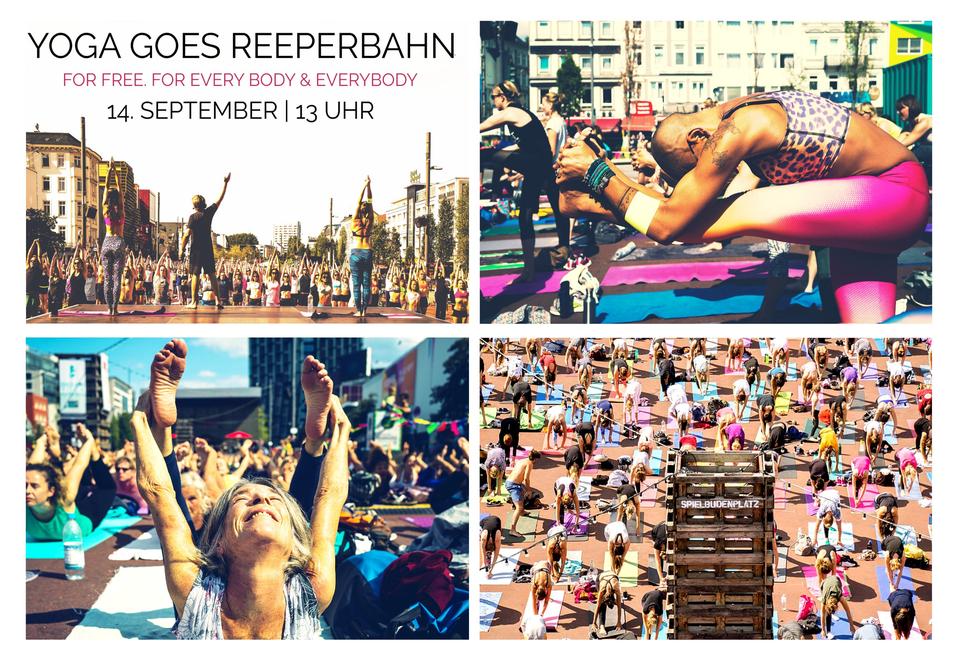 Bild: Yoga Goes Reeperbahn | So bunt wie Sankt Pauli.