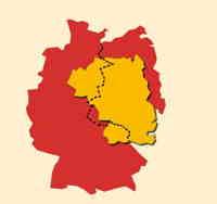 Bild: Deutschland - einig, schwarz-rot-goldenes Land?