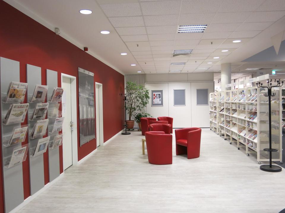 Bild: Die Bücherhalle Harburg