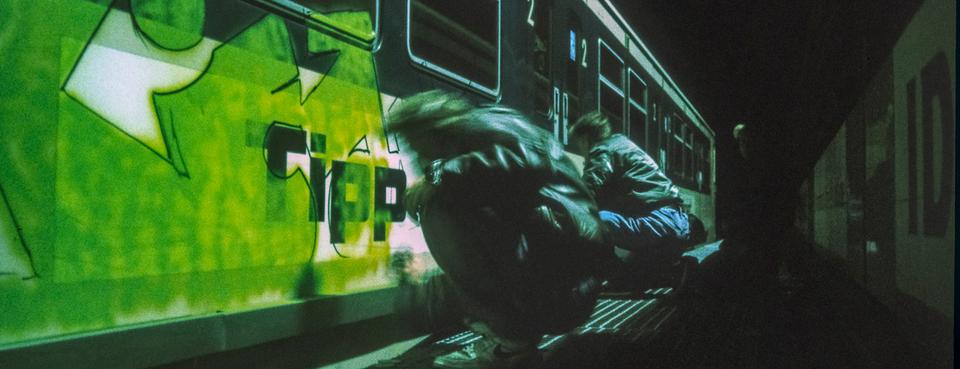 Bild: Eine Stadt wird bunt. Hamburg Graffiti History 1980 – 1999