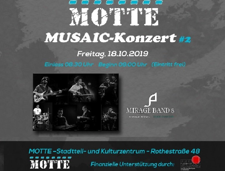 Mirage Band 8 & Die Motte Coyright 2019