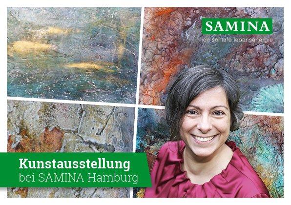 Bild: Kunstausstellung bei SAMINA Hamburg