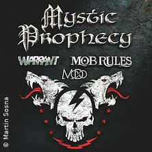 Bild: Mystic Prophecy - Mob Rules + Support