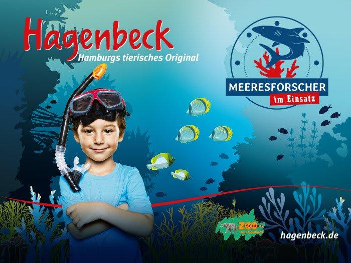 Bild: Ferien bei Hagenbeck - Meeresforscher im Einsatz