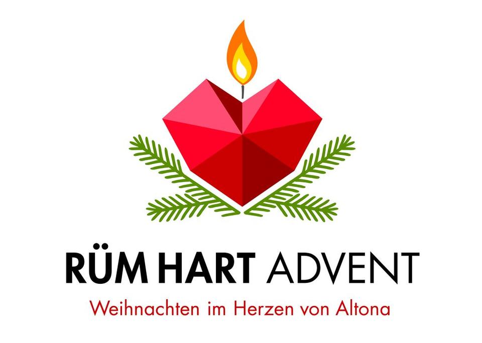 Bild: Logo RÜM HART Advent