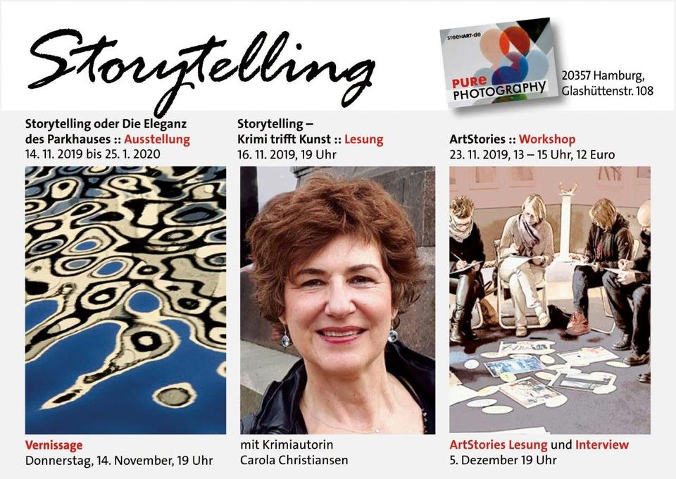 Bild: Storytelling - ein vierteiliger Veranstaltungszyklus