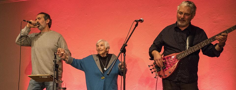 Bild: Gespräch und Konzert mit Esther Bejarano & Microphone Mafia