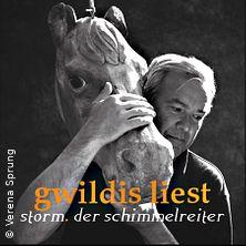 Bild: Stefan Gwildis - gwildis liest storm. der schimmelreiter.