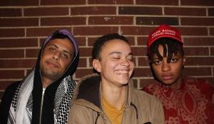 Bild: u.a. mit Sidney Frenz, Samra Mayanja, Kiddy Smile: Queer B-Cademy Tag 3