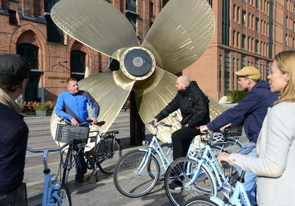 Bild: Radtour maritimes Museum Hamburg Auskenner