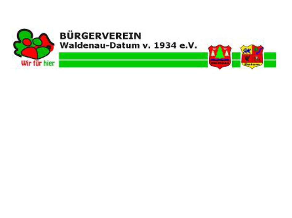 Bürgerverein Waldenau-Datum v. 1934 e. V.