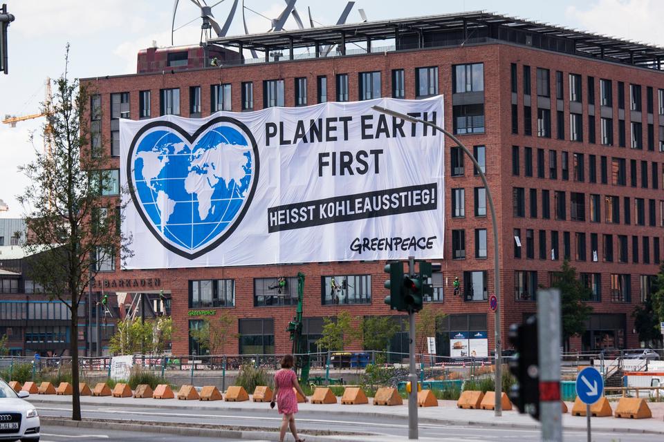 Bild: Greenpeace - Engagement für eine lebenswerte Umwelt
