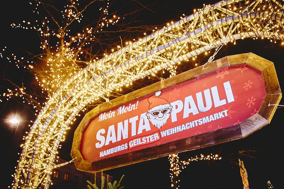 Bild: Santa Pauli Weihnachtsmarkt