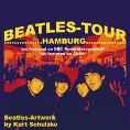 Plakat: Beatles-Tour Hamburg