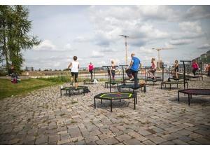 Jumping Fitness im Baakenpark 2020