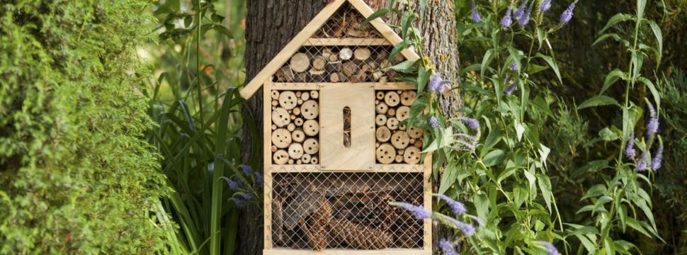 Insektenhotel, © iStock.com/fotomem