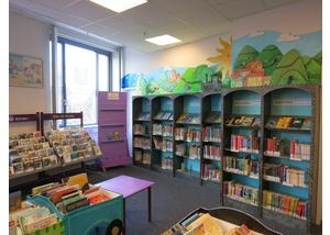 Der Kinderbereich in der Bücherhalle Niendorf