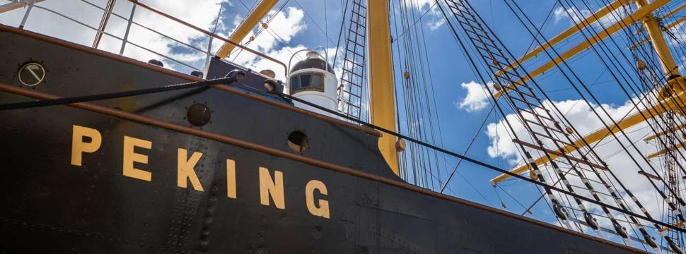 Museumsschiff Peking, © SHMH