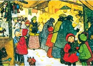 Weihnachtsmarkt der Kunsthandwerker im Freilichtmuseum am Kiekeberg vom 26.11. bis 28.11.21