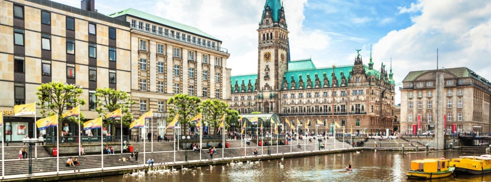 Hamburger Rathaus, © Jakob Radlgruber / Depositphotos.com