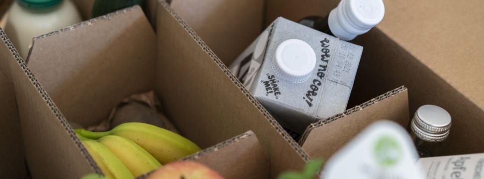 Frischepost Food-Box, © Frischepost