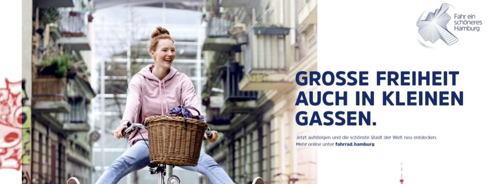 Fahr ein schöneres Hamburg, Plakat