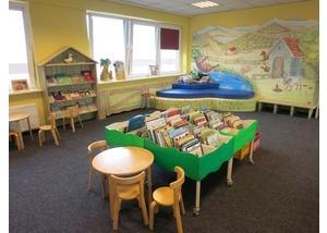 Der Kinderbereich in der Bücherhalle Eidelstedt