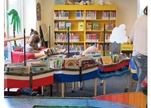 Der Kinderbereich in der Bücherhalle Neuallermöhe