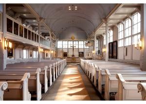 Das Kirchenschiff von St. Johannis zu Eppendorf