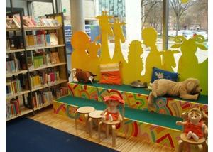 Die Bücherhalle Dehnhaide