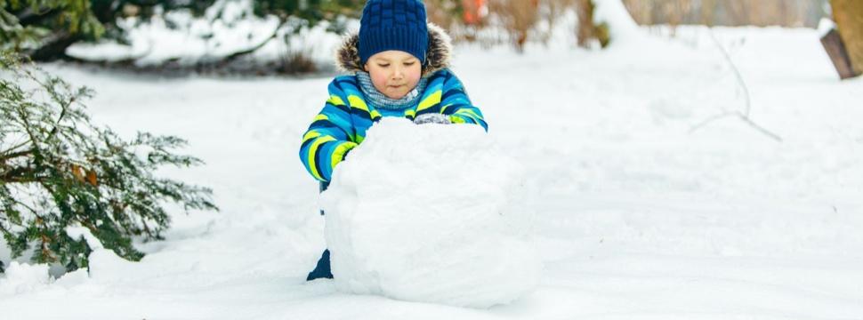 Schneemann bauen, © WetterOnline