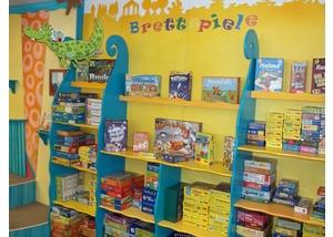 Die Spieleecke in der Bücherhalle Elbvororte