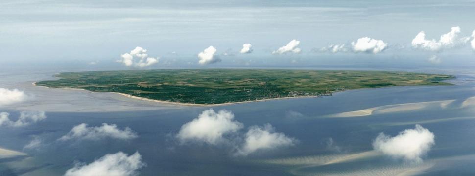 Luftaufnahme Föhr, © hamburg-magazin.de