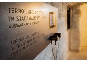 """""""Seufzergang"""" im Geschichtsort Stadthaus"""