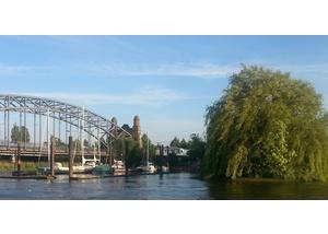 Rund Wilhelmsburg: Harburger Süderelbbrücke